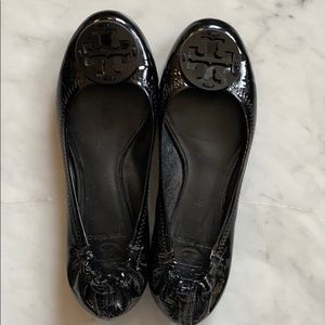 Like new Tory Bury Burch Reva Flats sz 7.5 patent